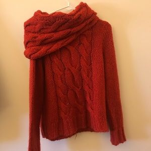 Red HM sweater